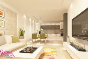 Модерен интериор на апартамент