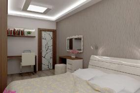 Проект на спалня Coffee
